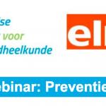 Link naar NVvK Webinar: Preventie op maat