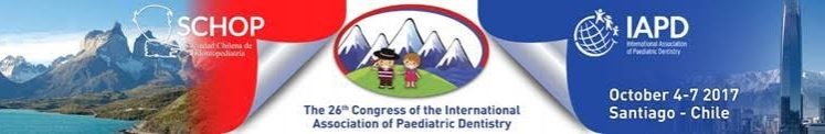 26TH CONGRESS OF THE INTERNATIONAL ASSOCIATION OF PAEDIATRIC DENTISTRY (IAPD)